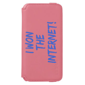 I Won the Internet iPhone 6/6s Wallet Case