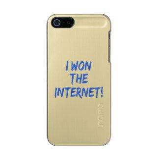 I Won the Internet Metallic Phone Case For iPhone SE/5/5s