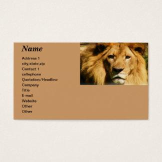 I wonder_ business card