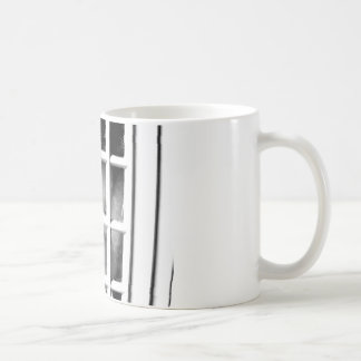 I wonder what it's like out there... classic white coffee mug