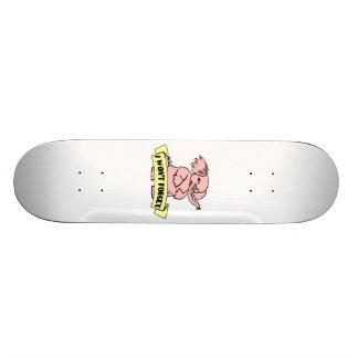 I Won't Forget Elephant Skateboard Deck