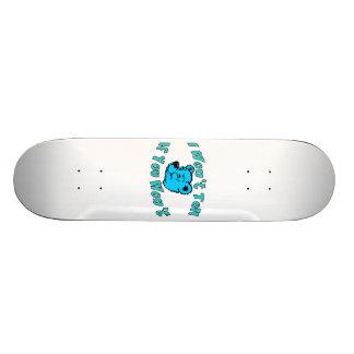 I Won't Tell Secret Bear Skate Boards