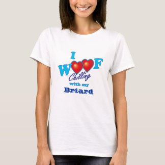 I Woof Briard T-Shirt