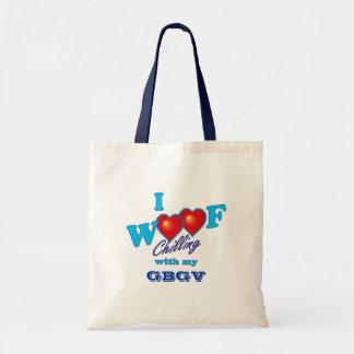 I Woof GBGV Tote Bags