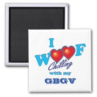 I Woof GBGV Fridge Magnets