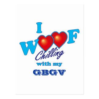 I Woof GBGV Postcard