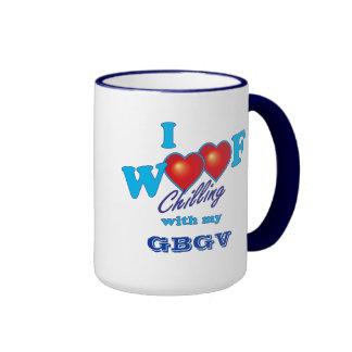 I Woof GBGV Ringer Mug