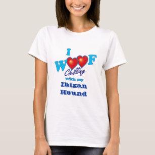 I Woof Ibizan Hound T-Shirt