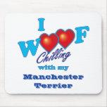 I Woof Manchester Terrier Mousepads