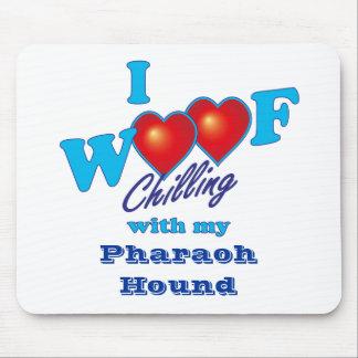 I Woof Pharoah Hound Mouse Pad
