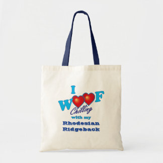 I Woof Rhodesian Ridgeback Tote Bag