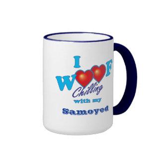 I Woof Samoyed Mug