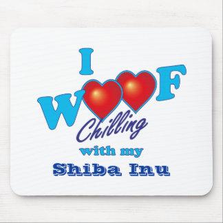i Woof Shiba Inu Mouse Pad