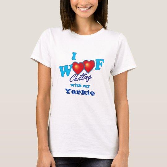 I Woof Yorkie T-Shirt