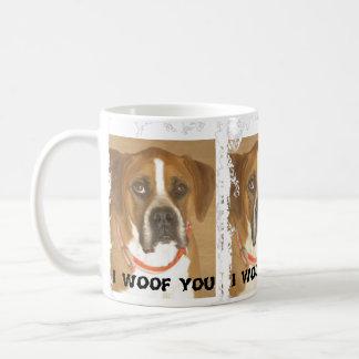 """""""I WOOF YOU"""" Mug"""