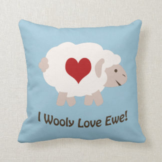 I Wooly Love You! Pillow