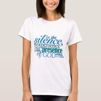 "<i>Word® diario</i> Camiseta del ""silencio"""