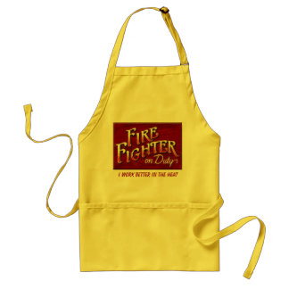 I Work Better In The Heat Apron