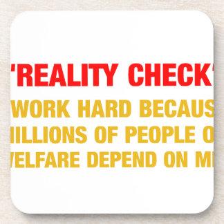 I work hard because millions on welfare depend on coasters