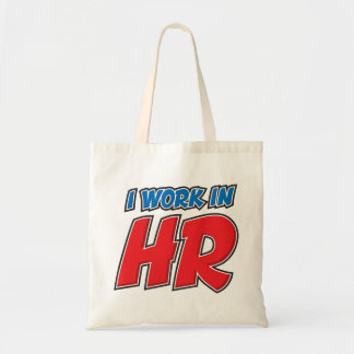 I work in HR Products Tote Bag