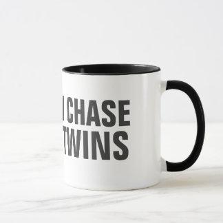 I work out just kidding I chase twins Mug