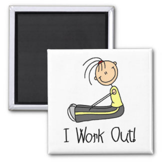 I Work Out Tshirts and Gifts Magnet