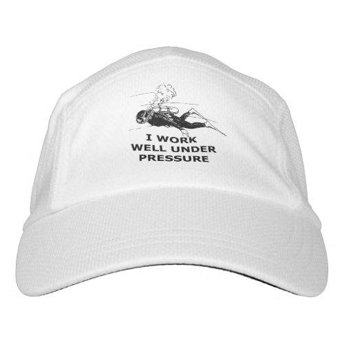I Work Well Under Pressure Scuba Diving Hat