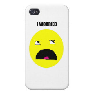 I WORRIED iPhone 4/4S iPhone 4/4S Cover