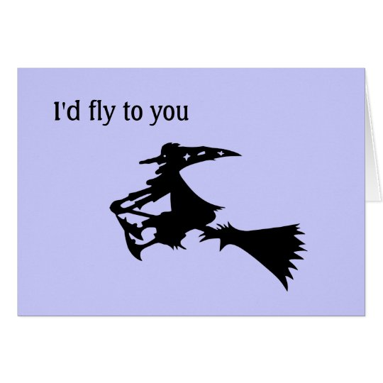 I would fly to you card