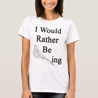 I Would Rather Be Scissoring T-Shirt