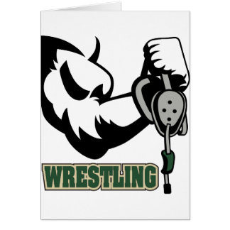 I Wrestle Card