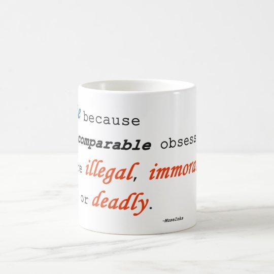 I write because... coffee mug