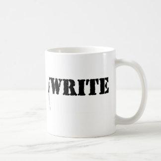 I Write Coffee Mugs