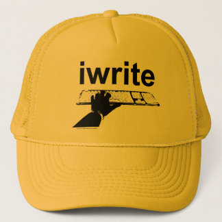 I write Do You? trucker cap