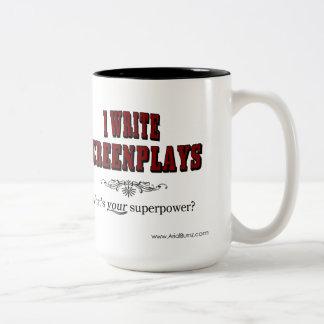 I Write Screenplays - Superpower Coffee Mug