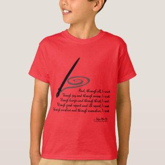 I Wrote T-Shirt