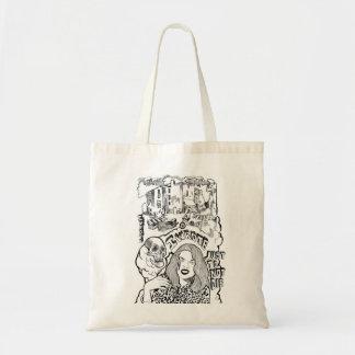 I wrote tote bag