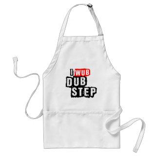 I Wub Dubstep Adult Apron