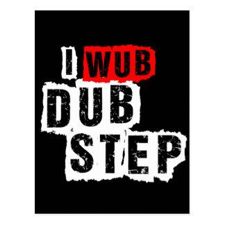I Wub Dubstep Postcard
