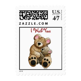 I Wub You Postage Stamp