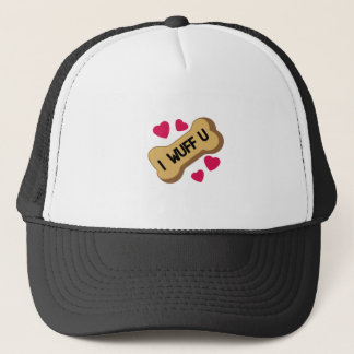 I Wuff You Trucker Hat