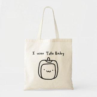 I Wuv Tofu Baby Tote Bag