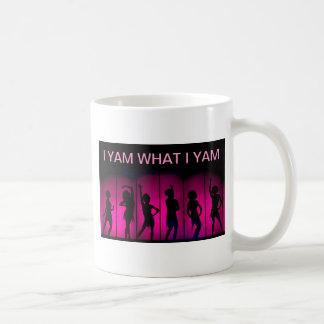 I YAM WHAT I YAM COFFEE MUG