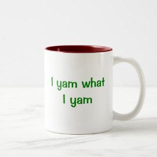I Yam What I Yam Mug
