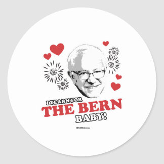 I Yearn for the Bern baby Classic Round Sticker