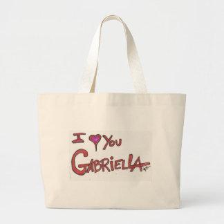 I ❤ YOU GABRIELLA LARGE TOTE BAG