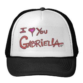 I ❤ YOU GABRIELLA TRUCKER HAT