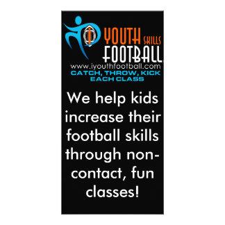I Youth Football Photo Card