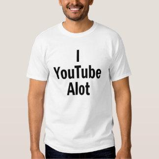 I YouTube Alot Shirt