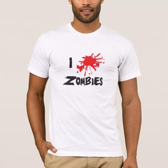I ♥ Zombies T-Shirt